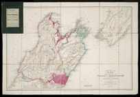 The provinces of Nelson and Marlborough [cartographic material] : with the adjacent parts of Wellington and Canterbury / Stanford's Geographical Establishment.