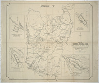 Plan of Tongariro National Park [cartographic material] : showing localities and details of lots mentioned in general specifications / C.G.S. Ellis.