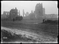 Ypres photographed soon after dawn, 6 A M