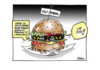 [National Party and NZ First criticise Air NZ for introducing vegan burgers on its flights]
