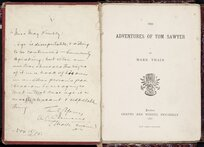 The adventures of Tom Sawyer / by Mark Twain.
