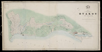 Map of the settlement of Otakou, New Zealand, 1847 [cartographic material].