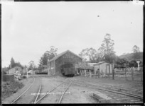 Railway yard at Tuakau