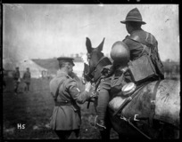Winners of Class III (New Zealand Field Ambulance) at the New Zealand Division horse show