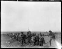 New Zealand troops training for an attack on Messines