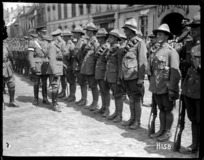 Duke of Connaught inspects the Victors of Messines