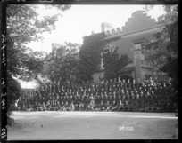 No 1 Company billeted at Hampton House, Torquay, World War I