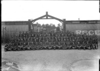 The NCOs and men of the New Zealand Stationary Hospital, Wisques, France