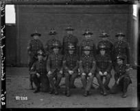 Educational instructors at Ewshot military camp, England