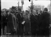 Arrival of President Poincare at Le Quesnoy