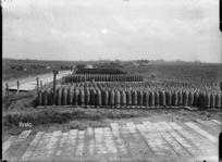 A World War I New Zealand ammunition dump, Acheux, France