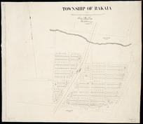 Township of Rakaia [cartographic material] / Sam Hewlings