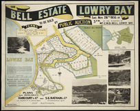 The Bell estate, Lowry Bay, to be sold ... Nov. 28th, 1936 ... [cartographic material] / [surveyed by] Martin & Dyett.