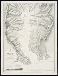 Akaroa Harbour [cartographic material] / surveyed by Captn. J.L. Stokes, Commr. G.H. Richards.