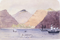 Artist unknown :[Album of an officer]. [Ascension Island, 1864?]