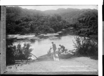 Hamurana Stream near Rotorua - Photograph taken by Sigvard Jacob Dannefaerd