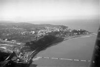 Aerial view of Ortona, Italy