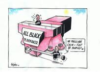 Hubbard, James, 1949-:'All Black Playmaker.' 8 October 2011