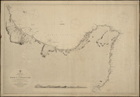 Mayor Id. to Poverty Bay [cartographic material] / surveyed by Commr. B. Drury, R.N. ... 1853 ; engraved by J. & C. Walker.