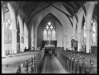Interior of Anglican Cathedral, Dunedin