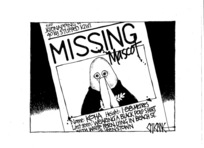 Winter, Mark 1958- :Missing mascot... 29 December 2011