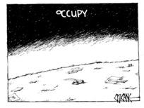 Winter, Mark 1958- :Occupy. 24 January 2012
