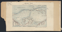Mount Cook [cartographic material] : Revd. W.S. Green's route 1882.
