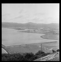 Land reclamation at Gracefield, Lower Hutt