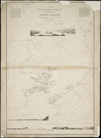 Chart of Cook's Strait [cartographic material].