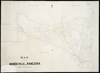 Map of the Mandeville and Rangiora Road District [cartographic material].
