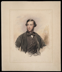 Richmond, George, 1809-1896 :[Canon William Selwyn?] 1849.