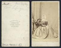 Ann Stapley - Photograph taken by H Webster