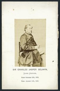 Sir Charles Jasper Selwyn