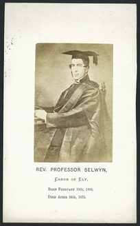 Rev Professor William Selwyn