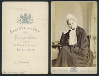 Sarah Harriet Selwyn - Photograph taken by Elliot and Fry