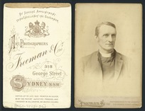 John Richardson Selwyn - Photograph taken by John Hubert Newman