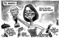 Evans, Malcolm Paul, 1945- :'The Awards'. 27 February 2012