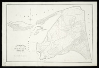 Plan of the town of Napier, Hawke's Bay [cartographic material] / drawn by Augustus Koch ; Lloyd & Wylie, litho.