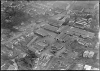 Industrial area including J J Craig industries, Parnell, Auckland