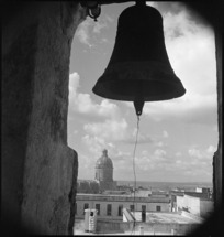 Scene from the belfry of Grottaglie Cathedral in Italy - Photograph taken by George Kaye