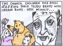 Doyle, Martin, 1956- :The Council children had been stuffing their teddy bears with cream buns. Nek minnit... 20 March 2012