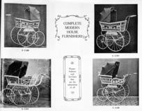 Tonson Garlick Co :[Prams, perambulators. Models G 1129 to G 1132. ca 1910].