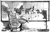 Evans, Malcolm Paul, 1945- : Indonesia...West Papua...Trade, trade, trade. 4 April 2012