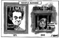 Evans, Malcolm Paul, 1945- :Whistle blowers. 4 April 2012