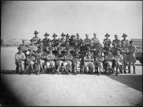 A NZ Ordnance Unit at Maadi, Egypt, World War II - Photograph taken by G Kaye