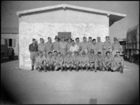 Soldiers at Arrowtown, Queenstown and Lake Districts Reunion, Maadi Camp, World War II - Photograph taken by G Kaye