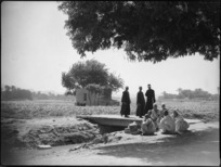 Rural scene beside a canal near Tura, Egypt - Photograph taken by George Kaye