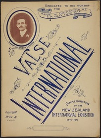 Valse international / composed by Baron Solomons.