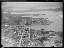 Aerial view of Noumea City and Harbour, New Caledonia