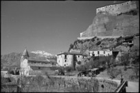 View of the village of Cerro, Italy - Photograph taken by George Kaye